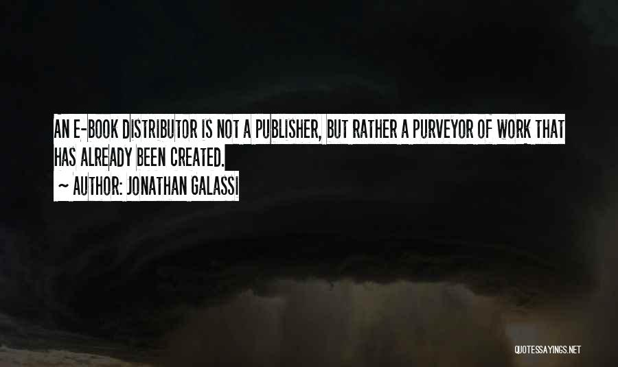 Jonathan Galassi Quotes 2100800