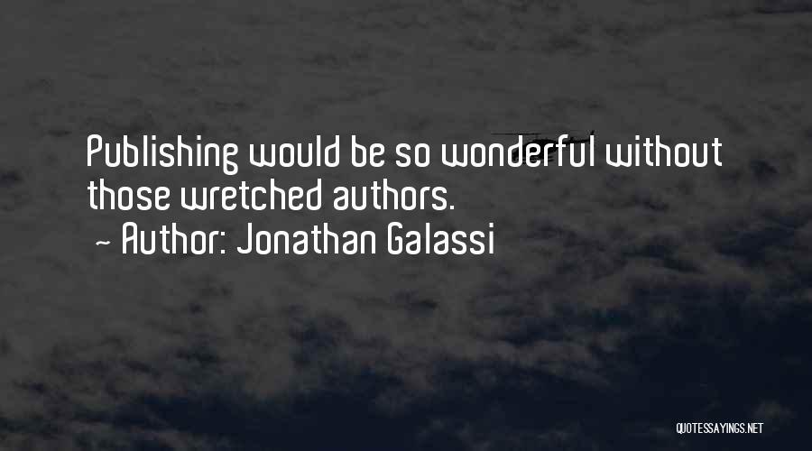 Jonathan Galassi Quotes 2120974