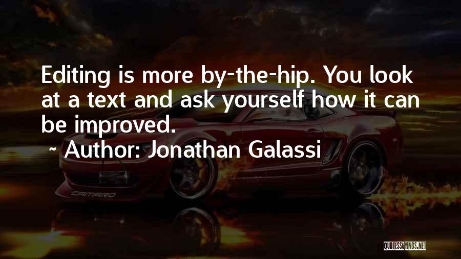 Jonathan Galassi Quotes 222648