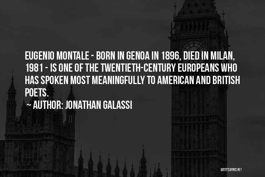 Jonathan Galassi Quotes 2262884