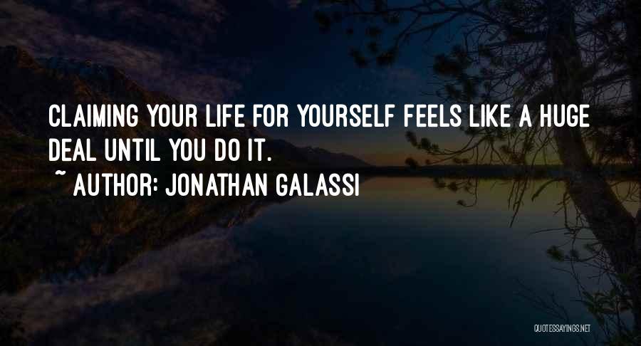 Jonathan Galassi Quotes 273682