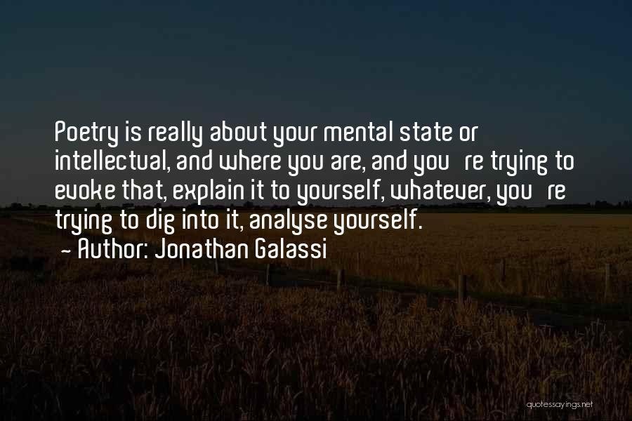 Jonathan Galassi Quotes 312446