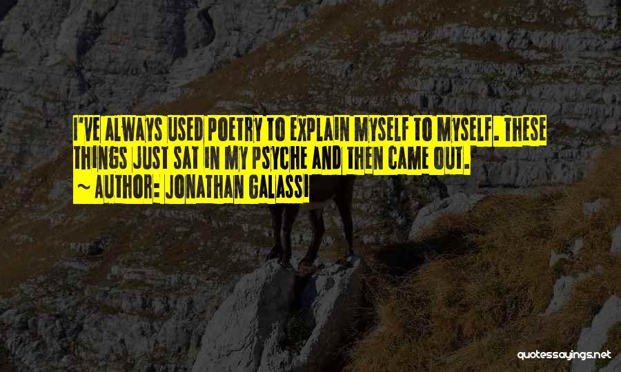 Jonathan Galassi Quotes 543801