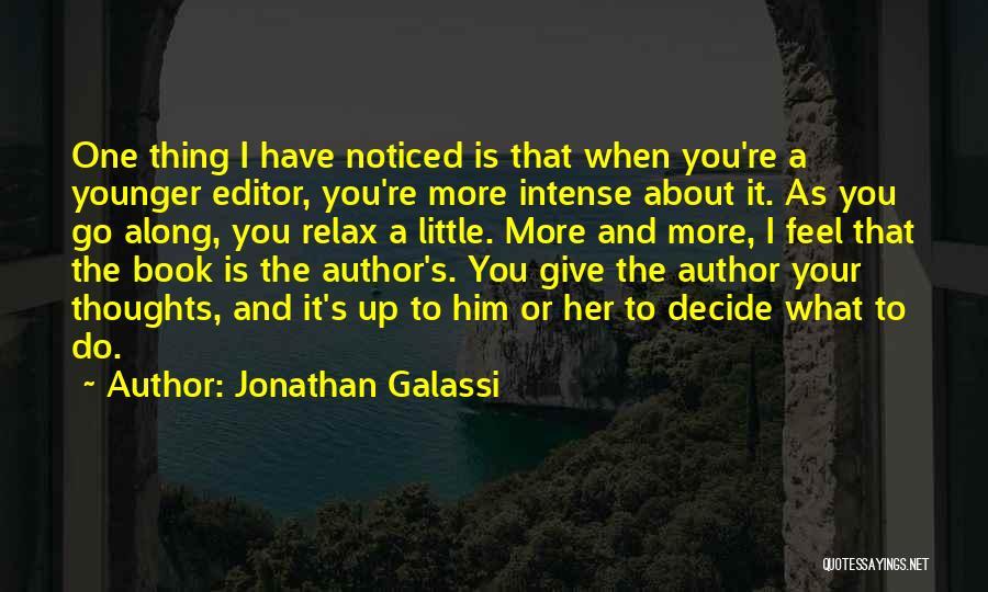 Jonathan Galassi Quotes 777693