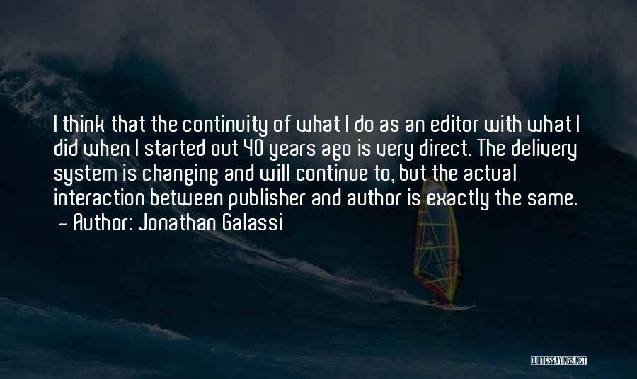 Jonathan Galassi Quotes 878488