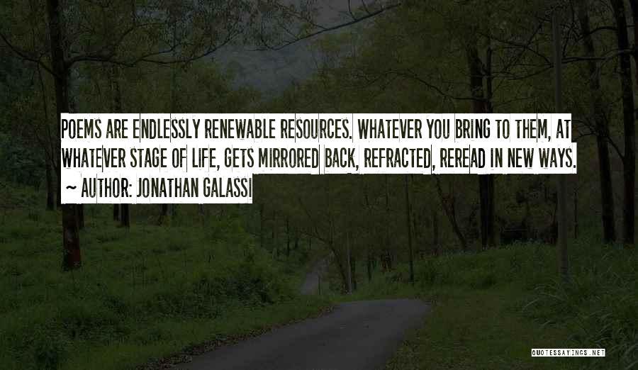 Jonathan Galassi Quotes 935618