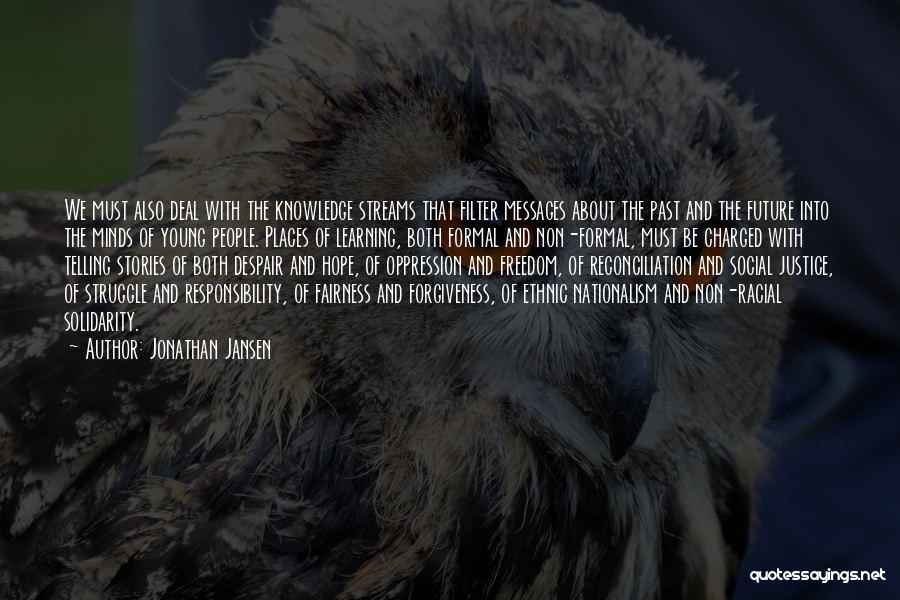 Jonathan Jansen Quotes 1872685
