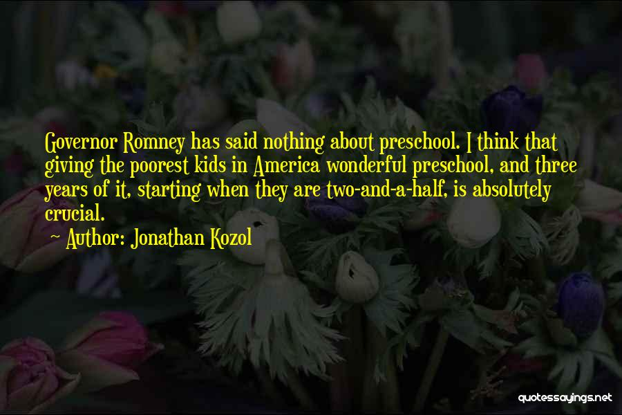 Jonathan Kozol Quotes 1646172
