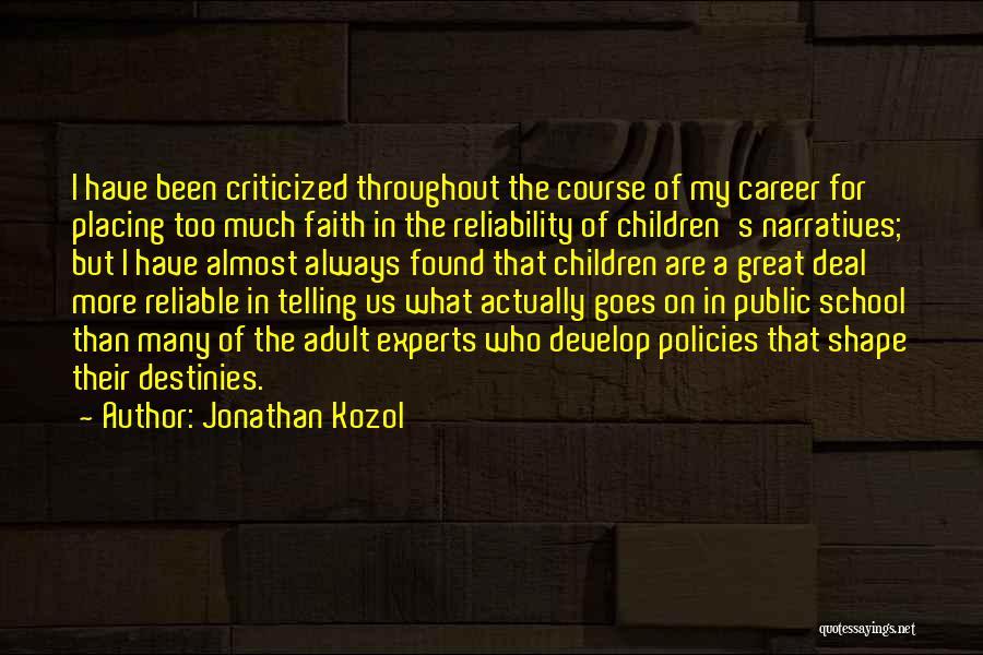 Jonathan Kozol Quotes 2044388