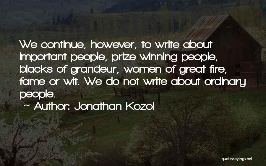 Jonathan Kozol Quotes 2181269
