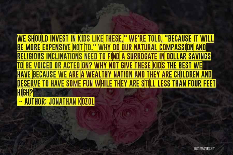 Jonathan Kozol Quotes 296844