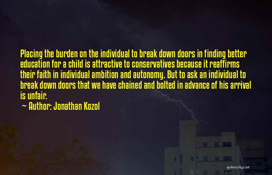 Jonathan Kozol Quotes 683806