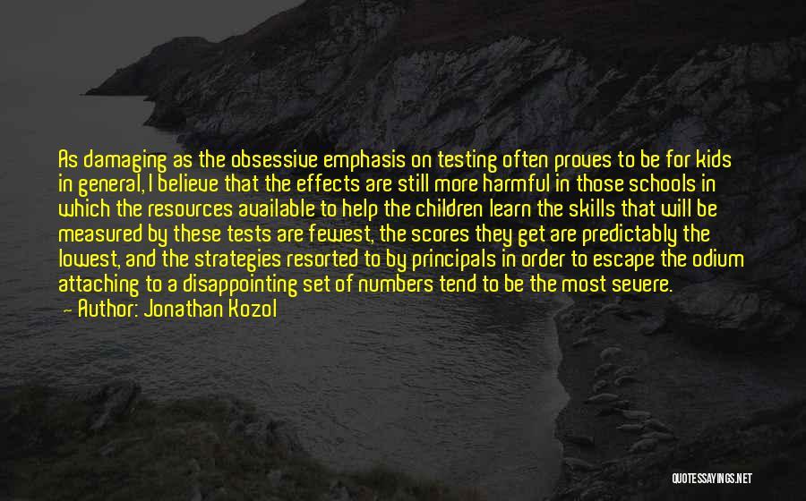 Jonathan Kozol Quotes 98858