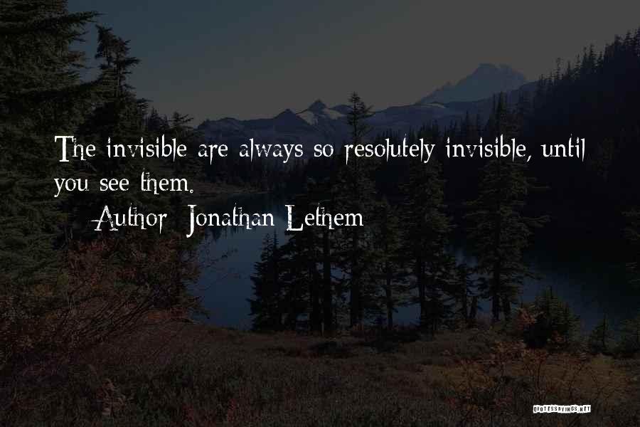 Jonathan Lethem Quotes 1087937