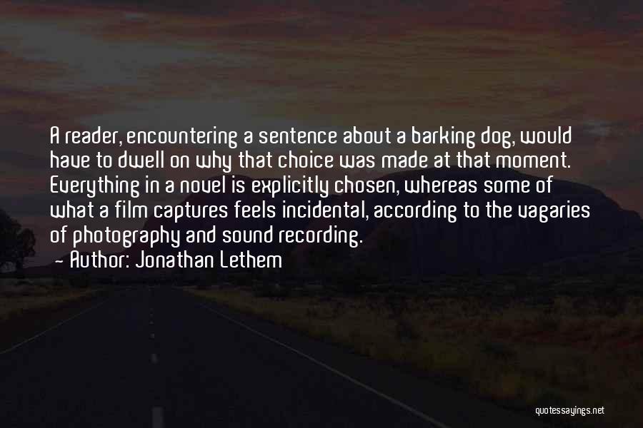 Jonathan Lethem Quotes 1120793