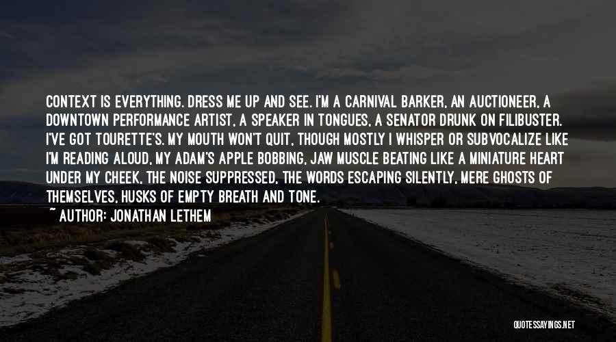 Jonathan Lethem Quotes 1559199