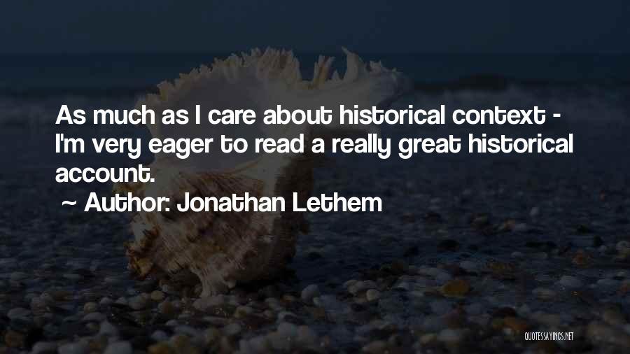 Jonathan Lethem Quotes 1983711