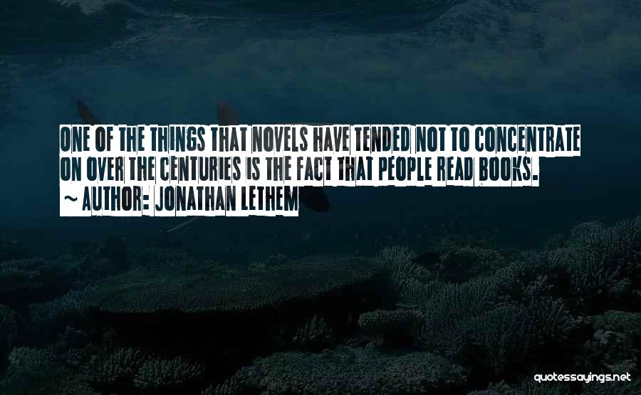 Jonathan Lethem Quotes 290159