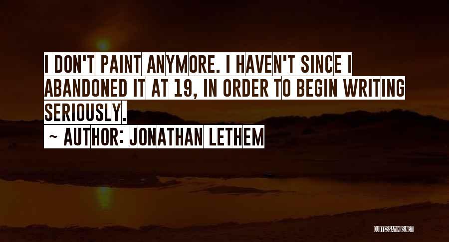 Jonathan Lethem Quotes 517751