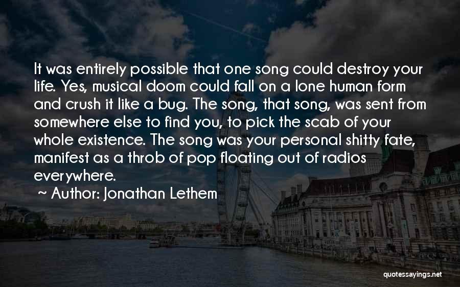 Jonathan Lethem Quotes 760625