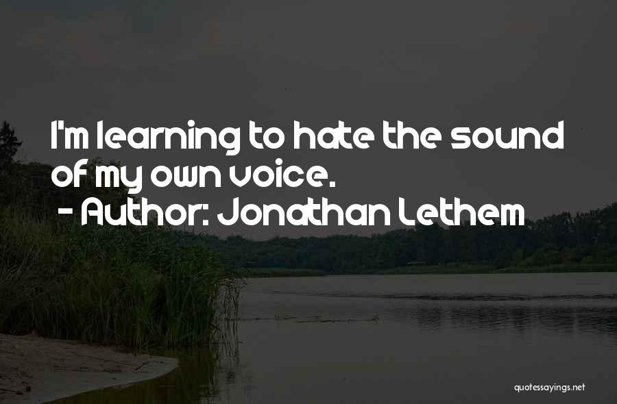 Jonathan Lethem Quotes 815837