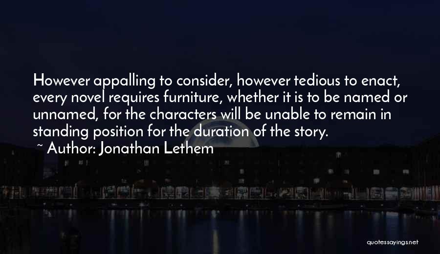Jonathan Lethem Quotes 973099