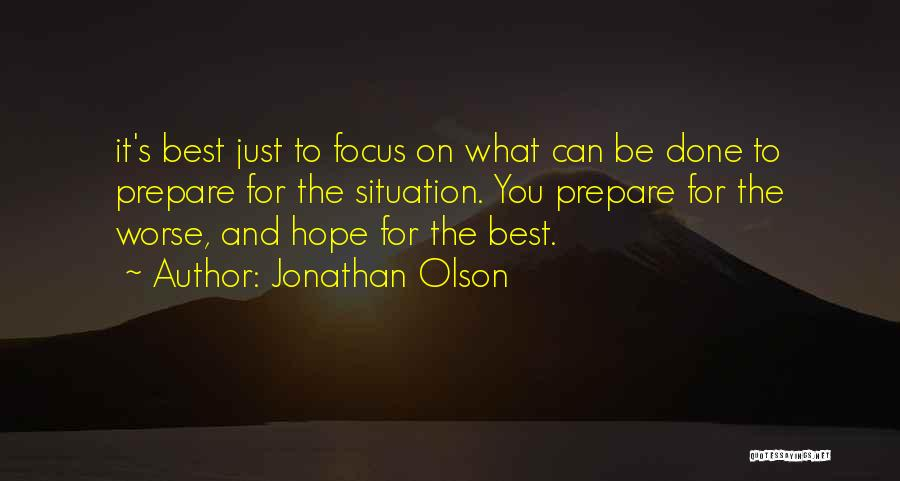 Jonathan Olson Quotes 114298