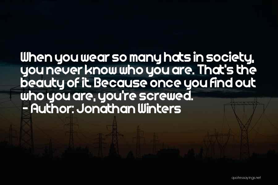 Jonathan Winters Quotes 1853331