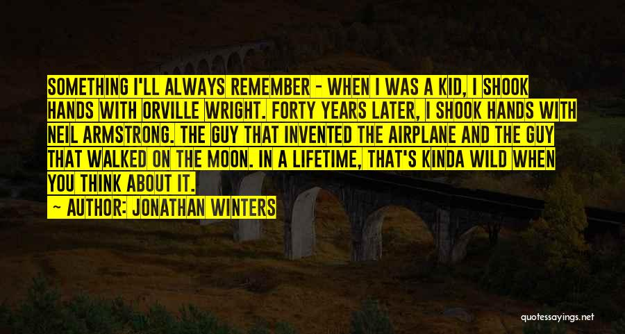 Jonathan Winters Quotes 1906208