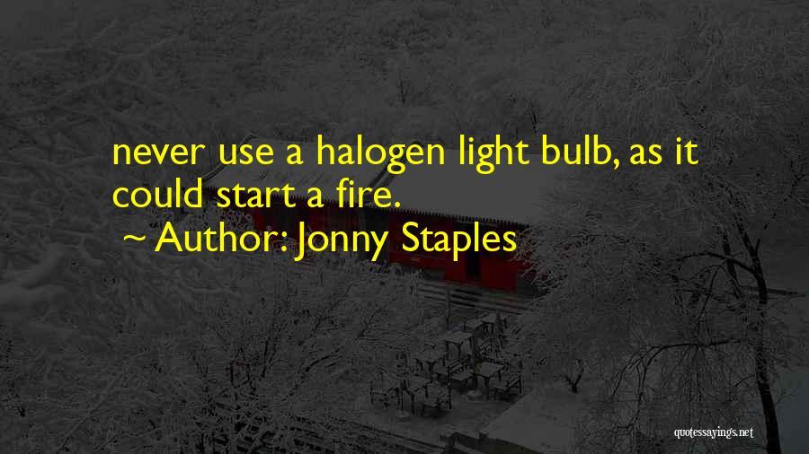 Jonny Staples Quotes 739787