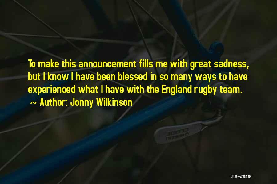 Jonny Wilkinson Quotes 1337538