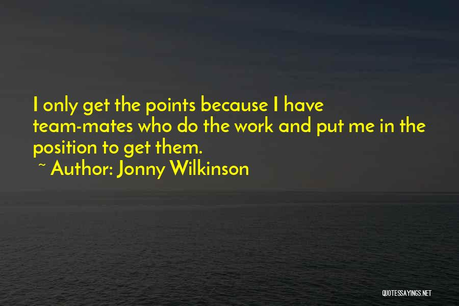 Jonny Wilkinson Quotes 141126