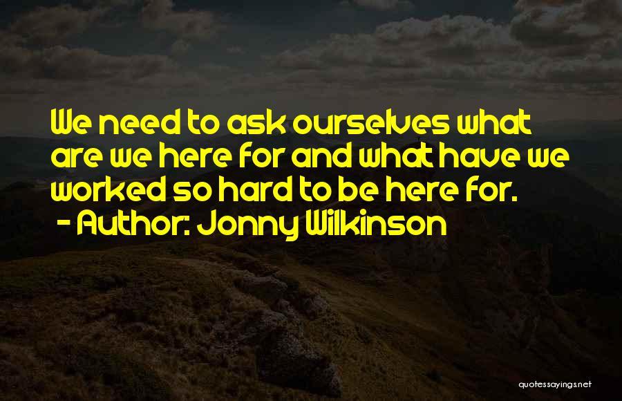Jonny Wilkinson Quotes 1734972