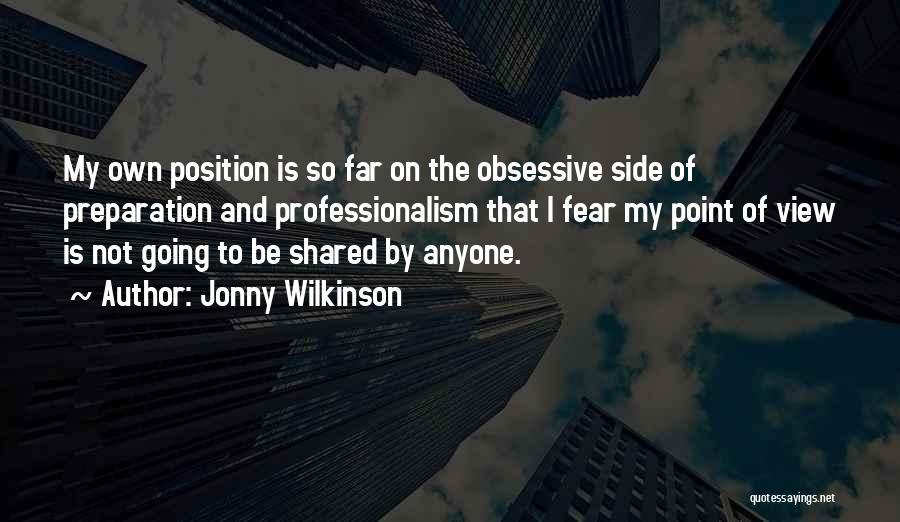 Jonny Wilkinson Quotes 1865727