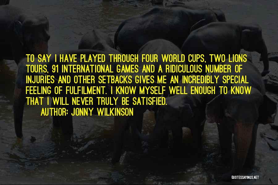 Jonny Wilkinson Quotes 390760