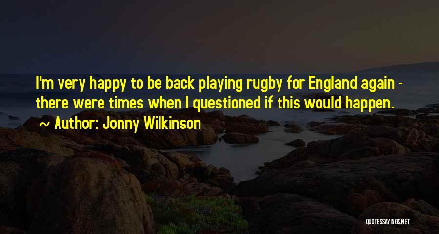 Jonny Wilkinson Quotes 976450