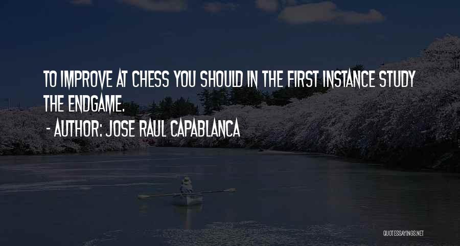 Jose Raul Capablanca Quotes 1205791