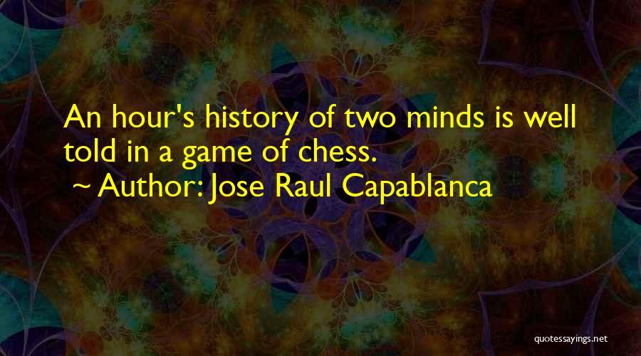 Jose Raul Capablanca Quotes 146176