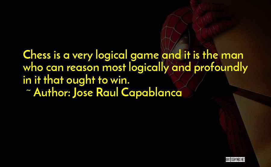 Jose Raul Capablanca Quotes 1483298