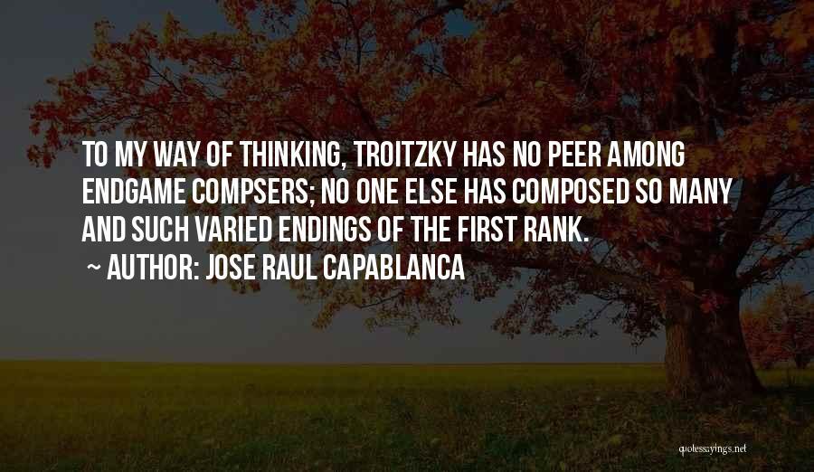 Jose Raul Capablanca Quotes 895155