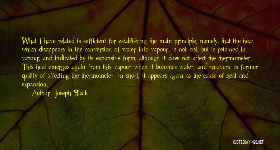 Joseph Black Quotes 2157398