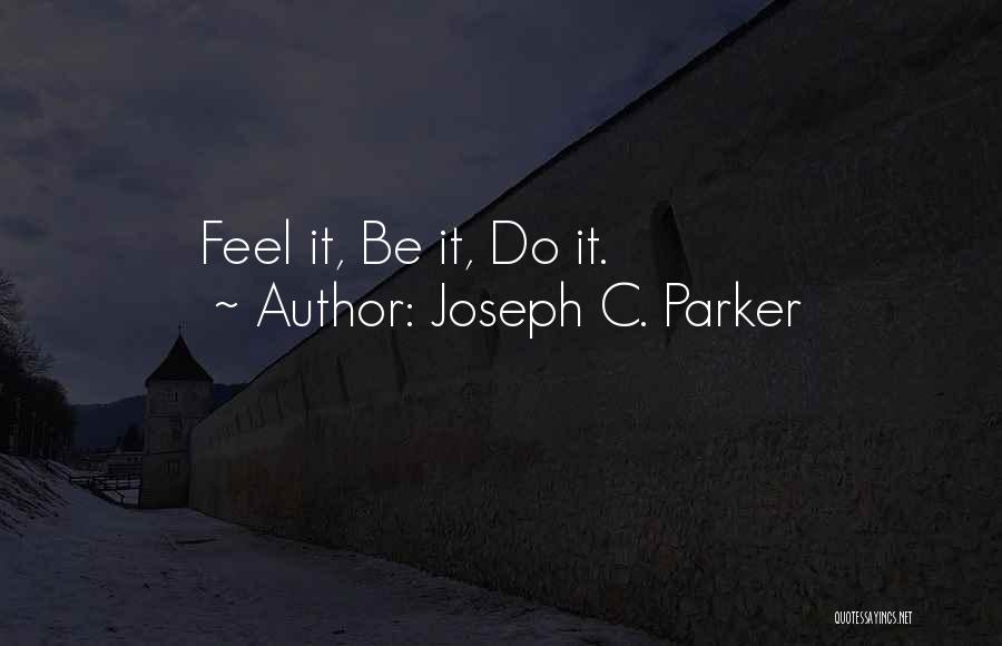 Joseph C. Parker Quotes 2030140
