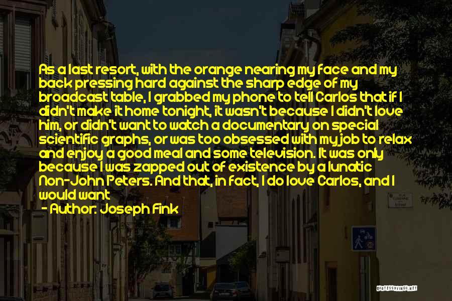 Joseph Fink Quotes 1050998