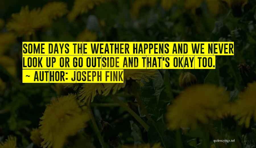 Joseph Fink Quotes 476410