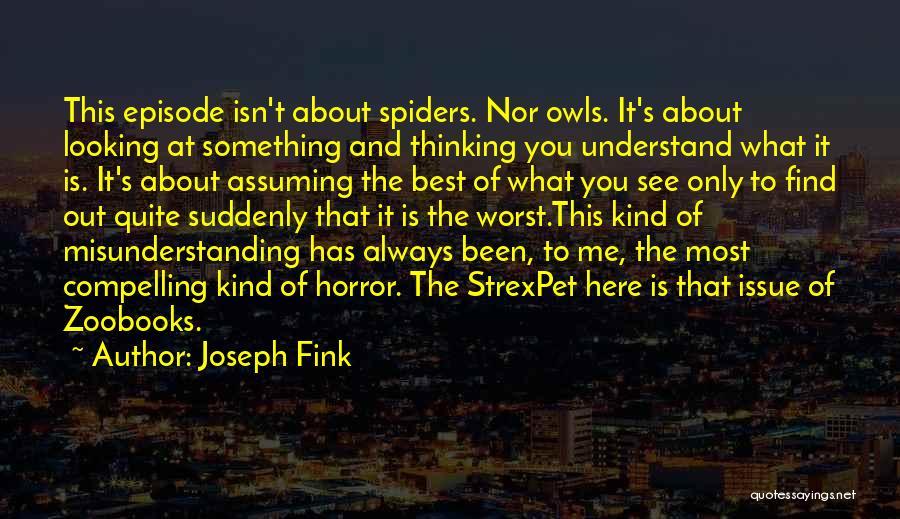 Joseph Fink Quotes 716598