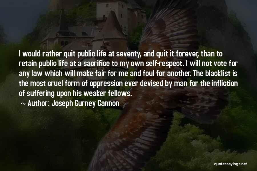 Joseph Gurney Cannon Quotes 569632