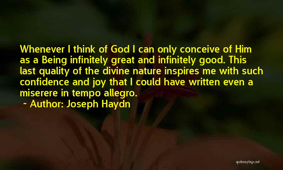 Joseph Haydn Quotes 1777549
