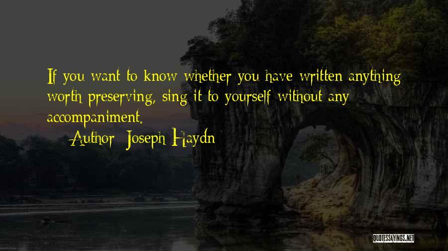 Joseph Haydn Quotes 608209