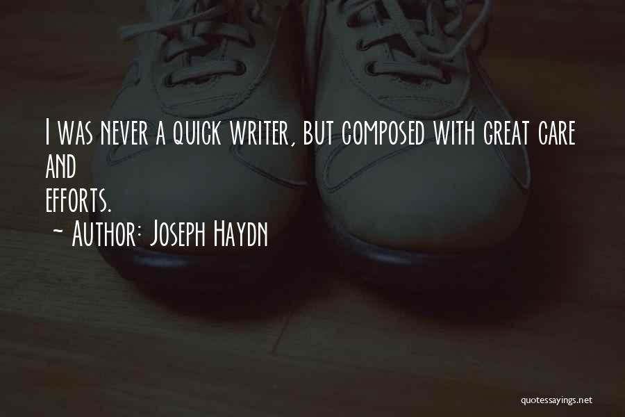 Joseph Haydn Quotes 616546