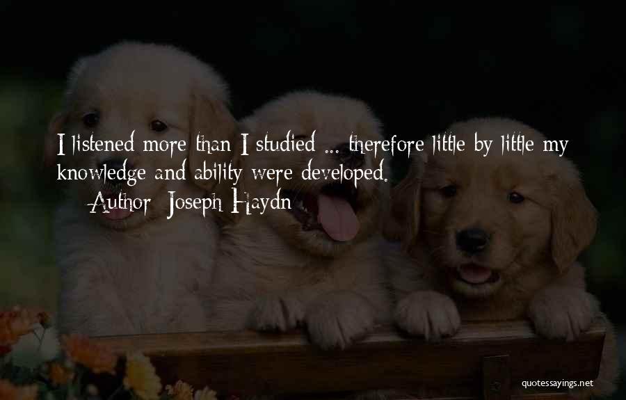 Joseph Haydn Quotes 644794